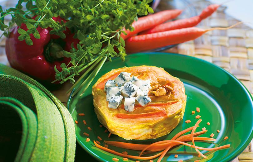 Tortino-carote-Gorgonzola