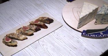 Strudel Gorgonzola e fichi